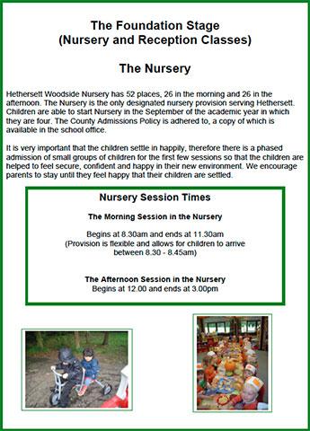 Nursery Brochure