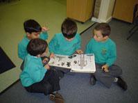 boys learning