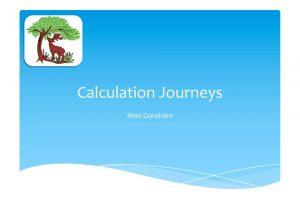 thumbnail of Calculation Journeys – Parent PowerPoint