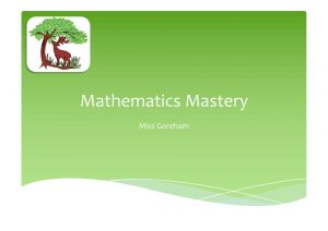 thumbnail of Mastery – Parent PowerPoint